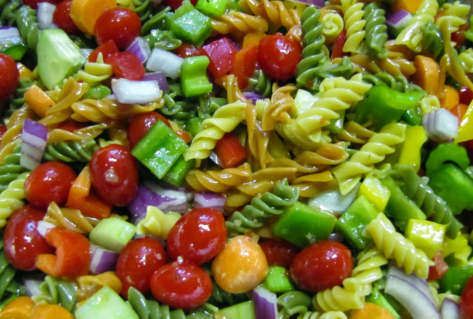 Easy Pasta Salad (Egg, Nut, Milk and Fish-Free, Can Be Wheat and Soy ...