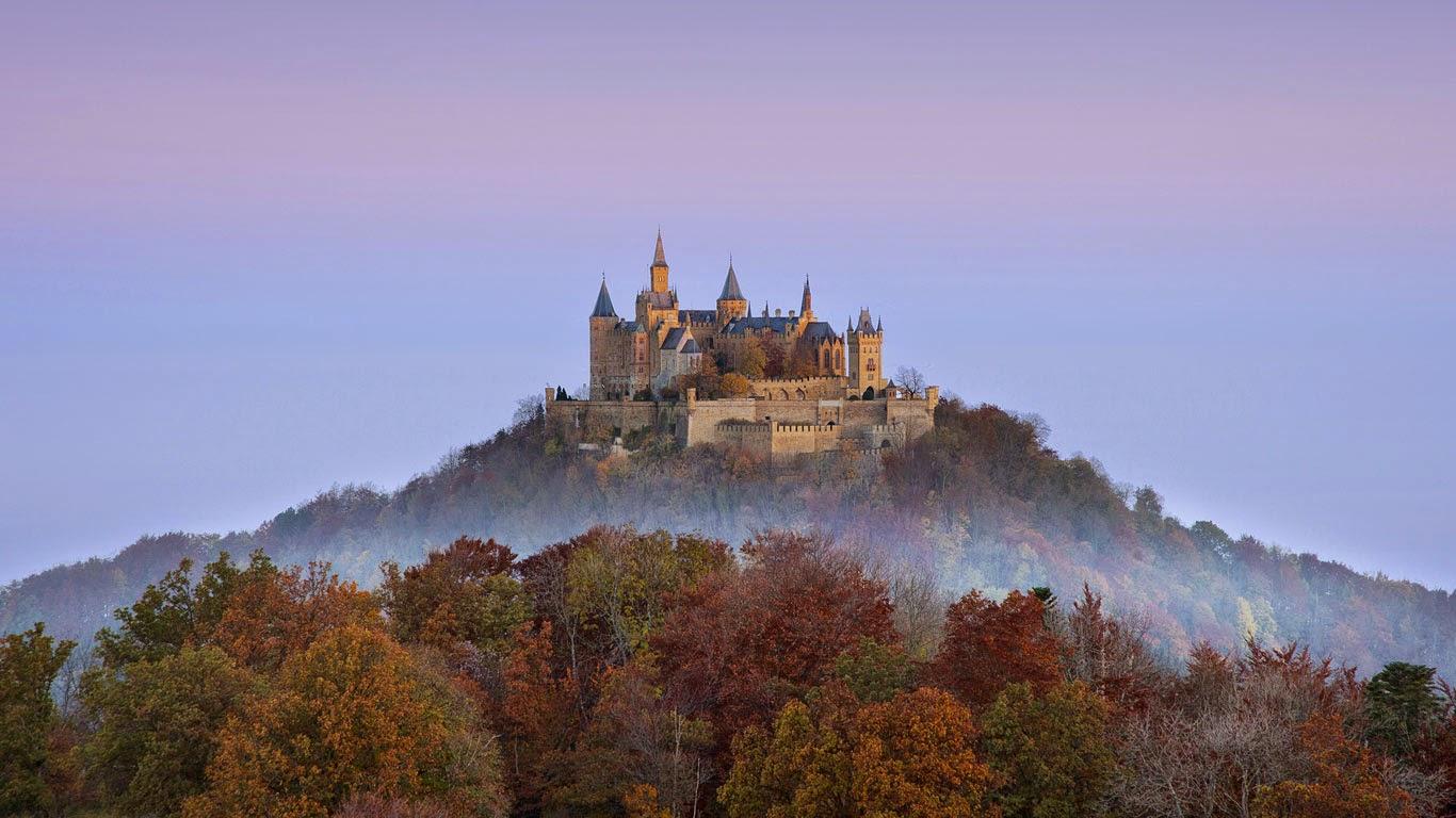 Hohenzollern Castle near Stuttgart, Germany (© Heinz Wohner/Getty Images) 50