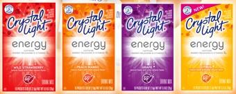Amostra Gratis Sucos em pó Crystal Light Energy