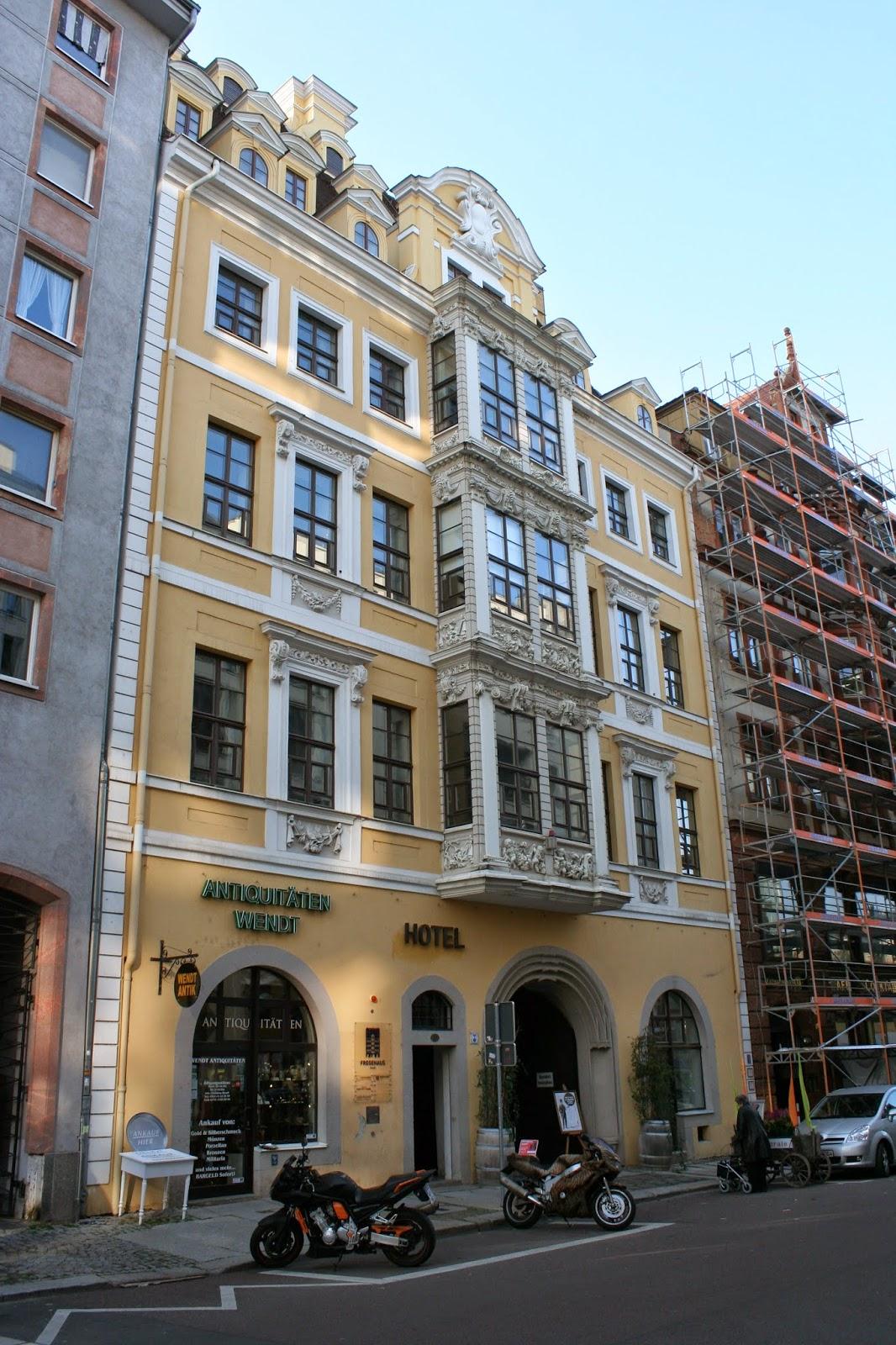 Fregehaus in der Katharinenstrasse - auch ein Hotel ist im Gebäude beheimatet