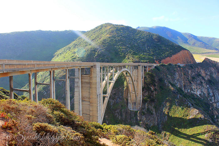 Spusht | Historic Bixby Creek Bridge on State Route 1