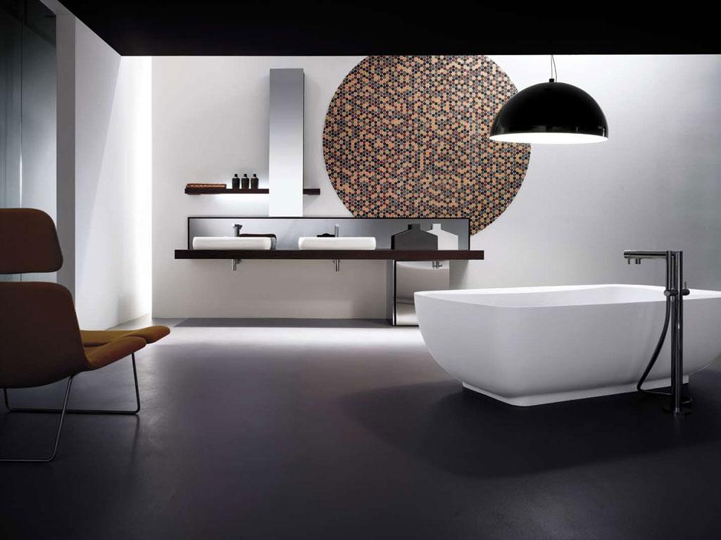 Decoración de un Baño Minimalista  Ideas para decorar, diseñar y mejorar tu casa.