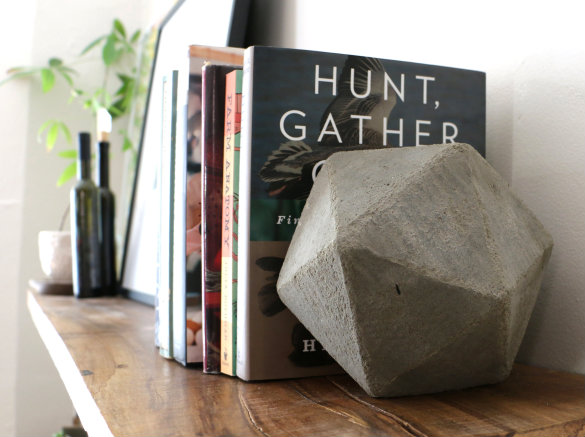 Over on ehow diy geometric concrete bookends 17 apart over on ehow diy geometric concrete bookends solutioingenieria