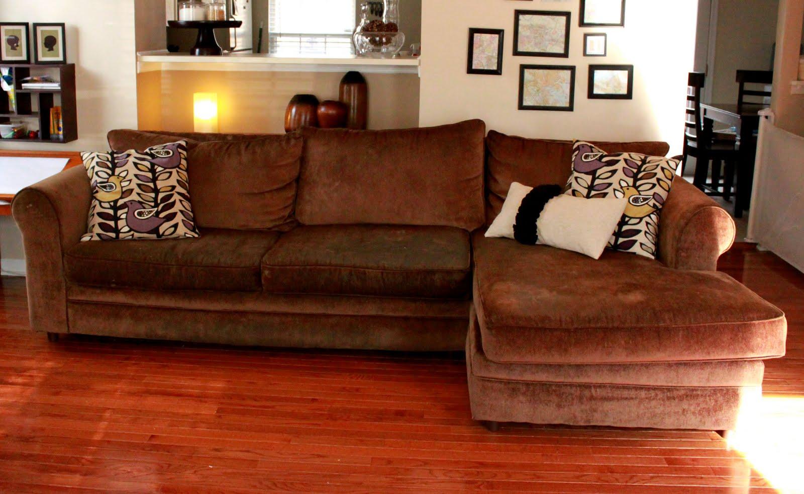 Nasty Sofa? Slipcover It!