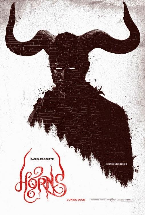 Horns Movie Poster : Teaser Trailer Horns Movie Poster