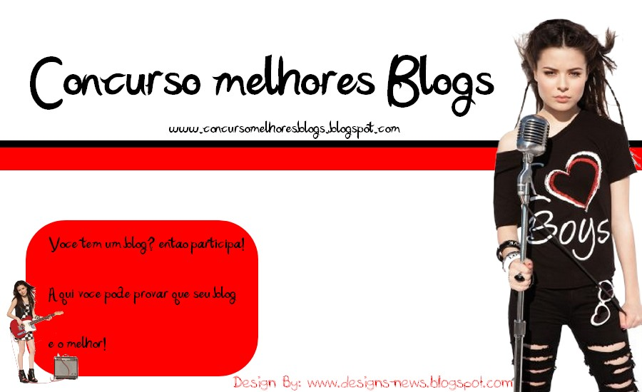 Concurso Melhores Blogs
