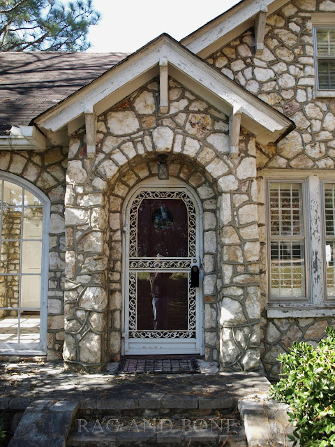 Rag and bone the miller rock house tudor architecture for Cost to build a house in little rock