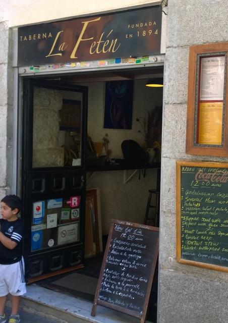 La fetén restaurante madrid