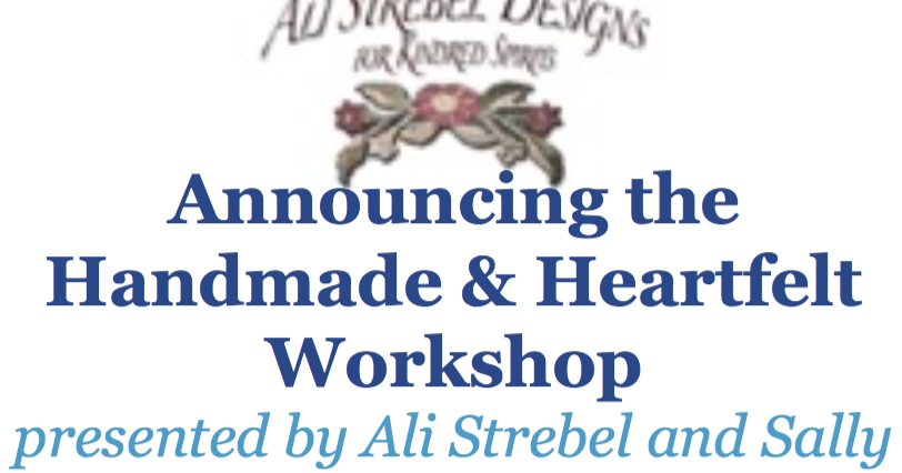 Ali Strebel Handmade Amp Heartfelt 2016