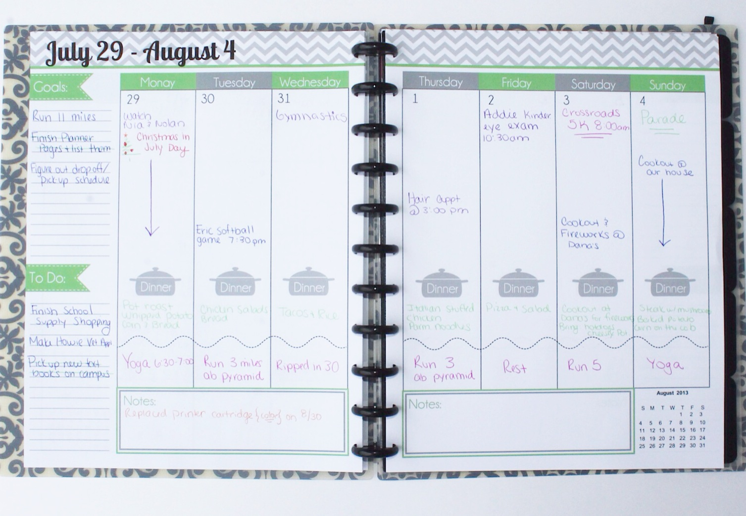 Arc Calendar Printables : The polka dot posie how to print assemble our large