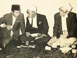 KH.BISRI SYANSURI, KH.KHOLIL BANGKALAN, KH.WAHAB HASBULLAH