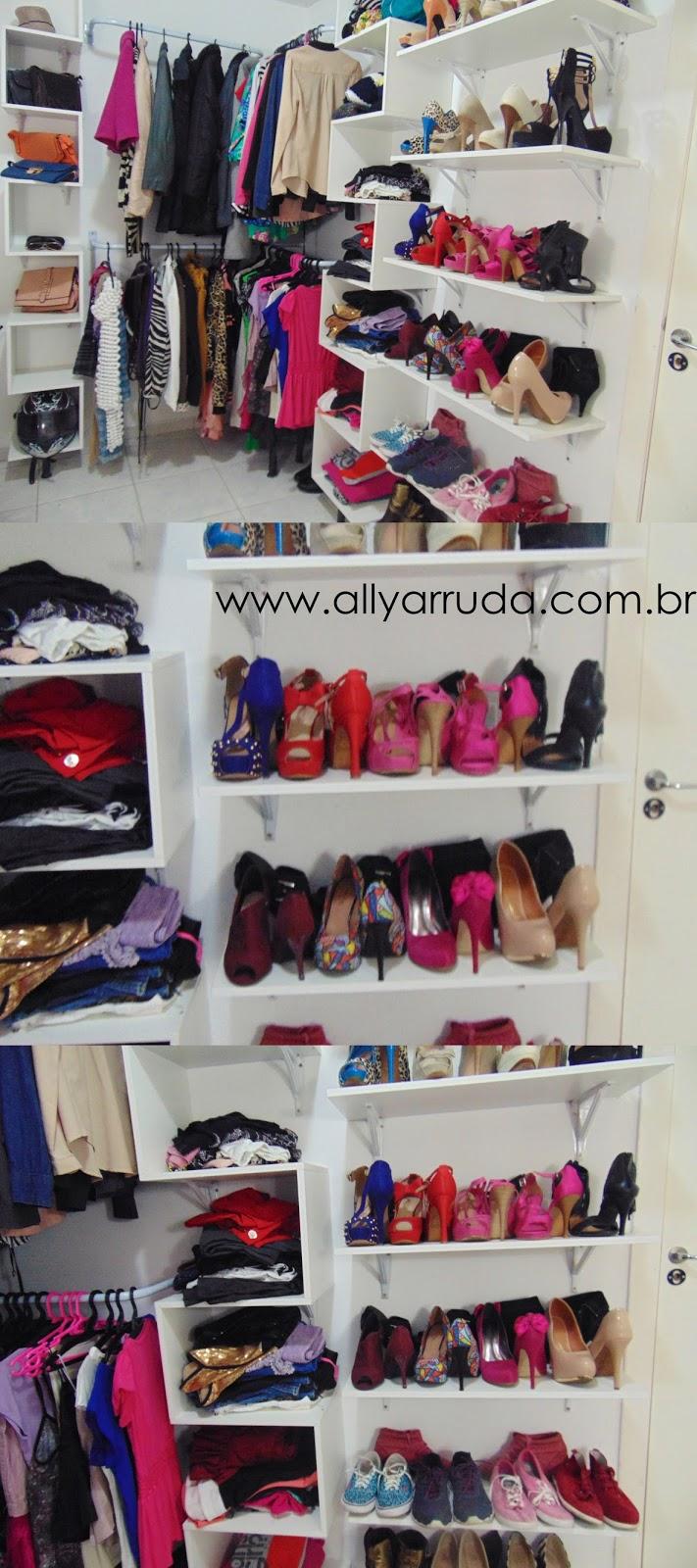 Closet - Faça você mesma | DIY | Blog Ally Arruda