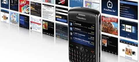 Aplicaciones y temas para Blackberry
