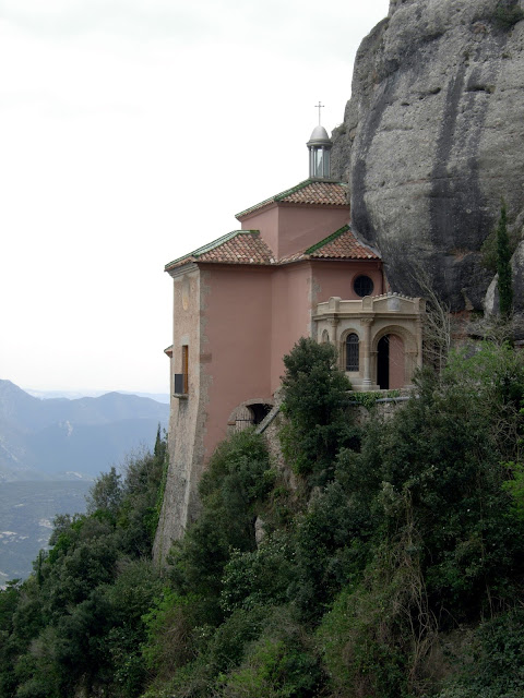 Santa Cova, Montserrat, Barcelona