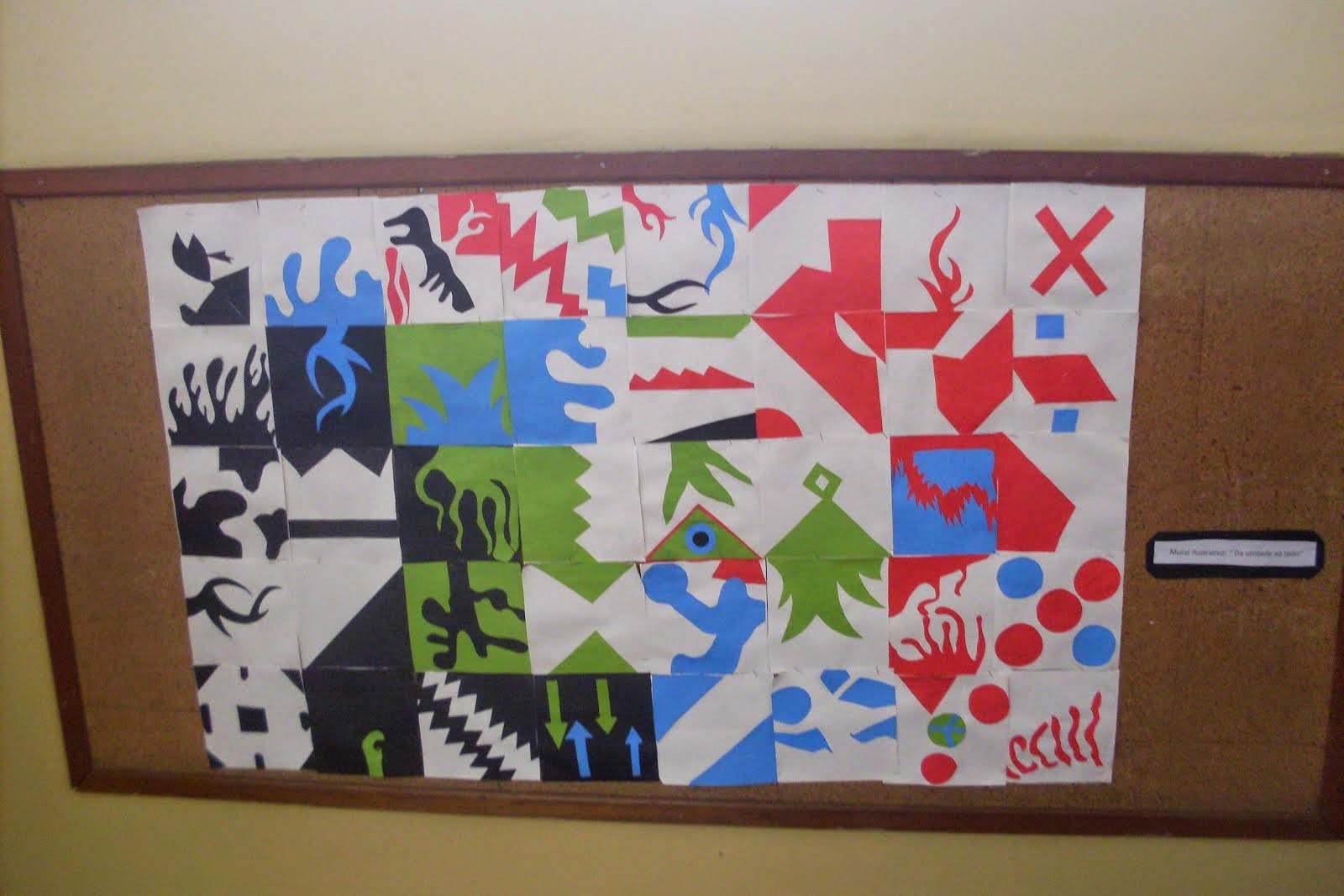 Inspirado nas intervenções Urbanas com azulejos