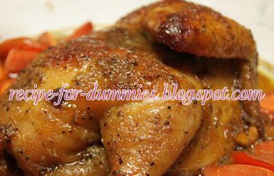 Resepi Ayam Panggang Ala Kenny Rogers