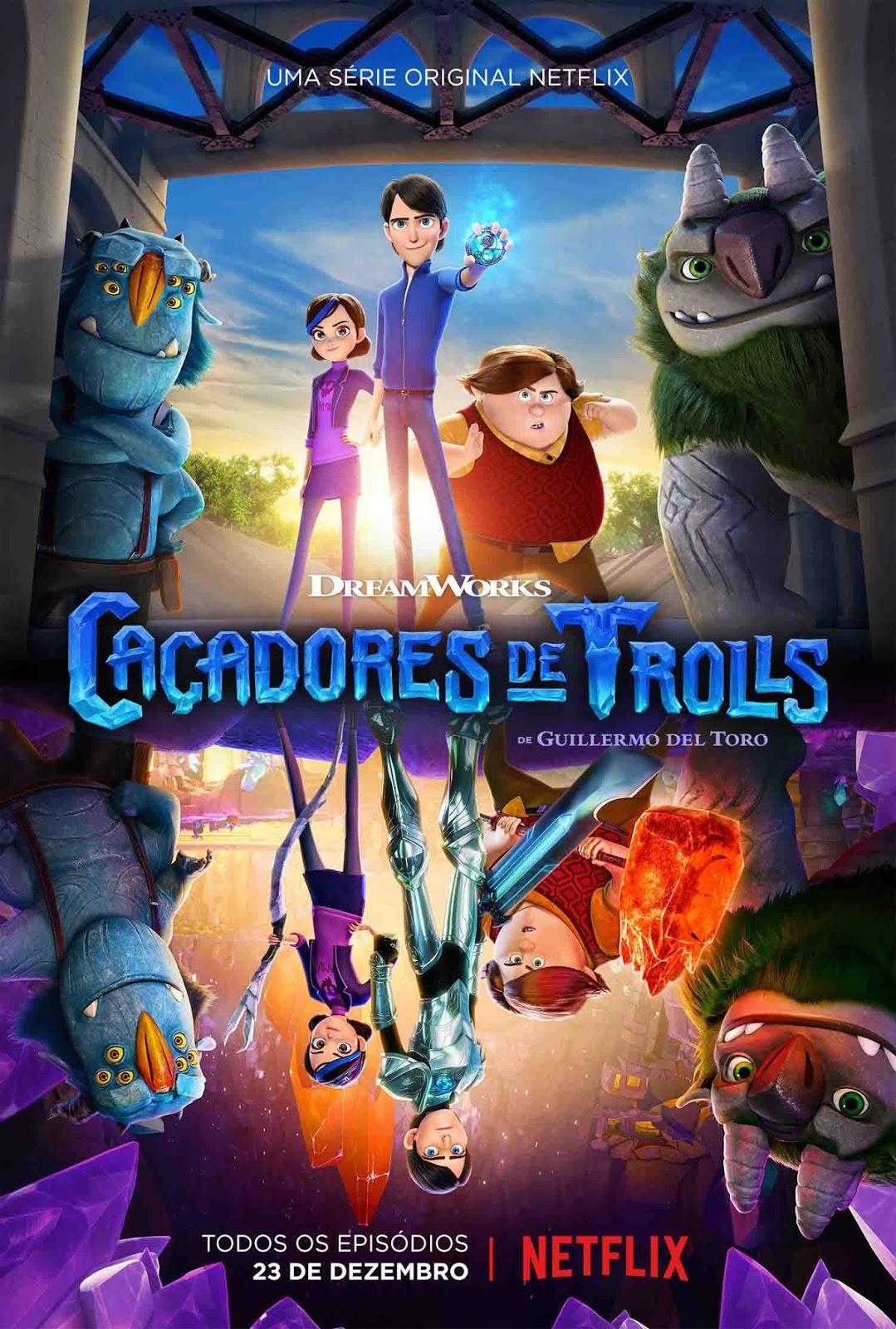 Caçadores de Trolls 1ª Temporada Torrent – WEBRip 720p Dual Áudio (2016)