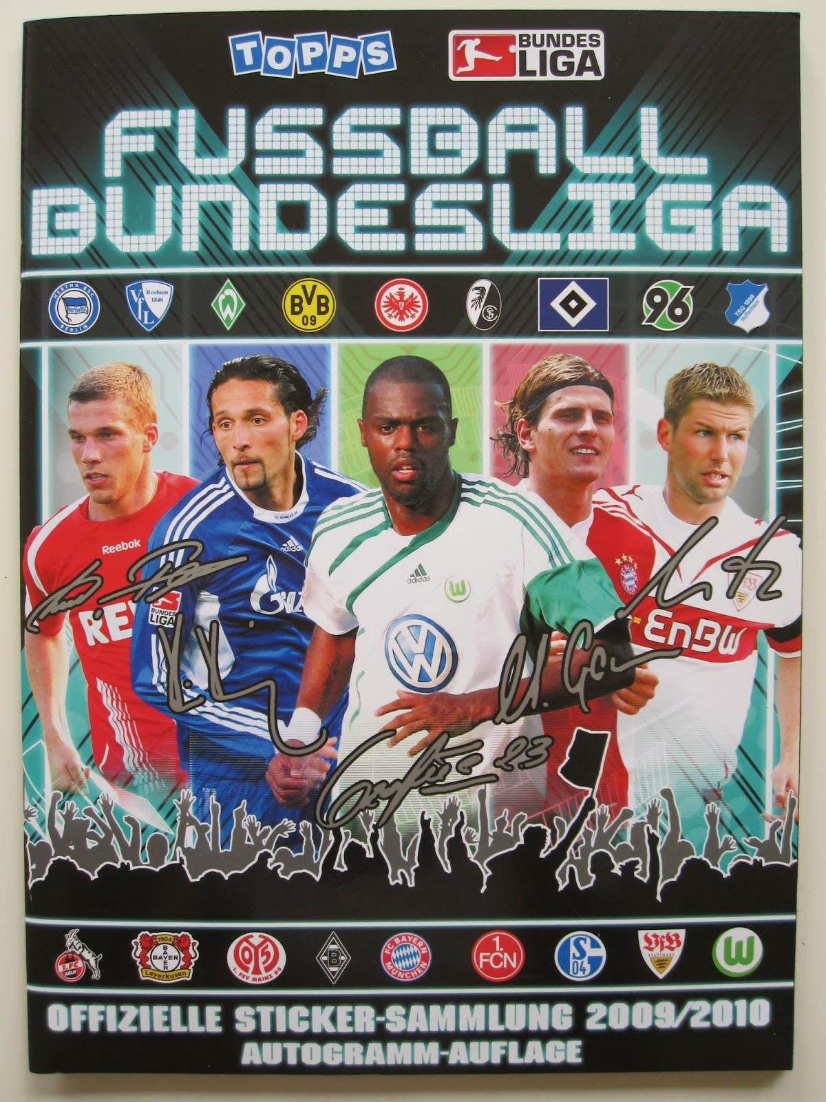 Only good stickers topps bundesliga 2010 for Bundesliga 2010