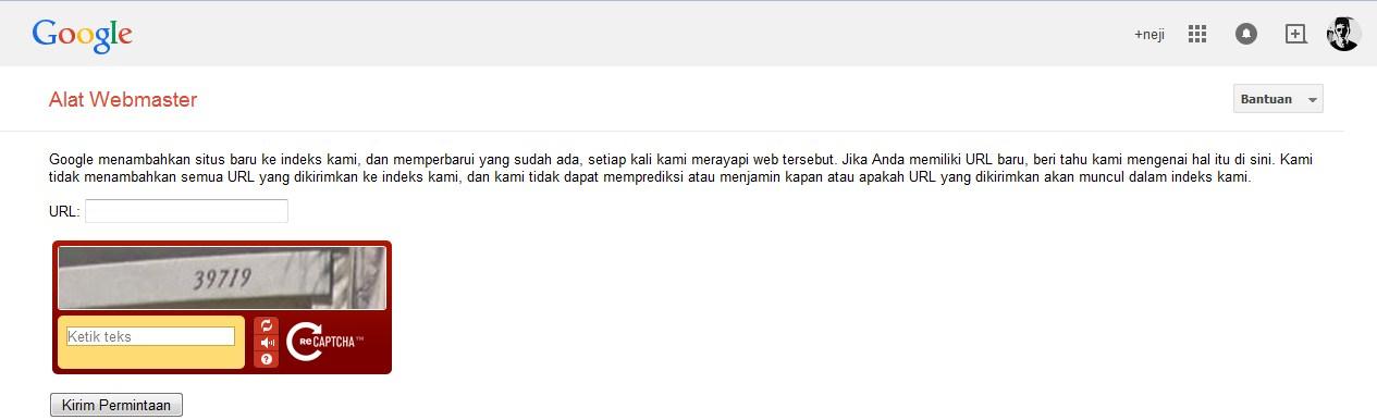 Webmaster Submit url http://taupintar.blogspot.com