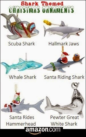 Shark Themed Ornaments