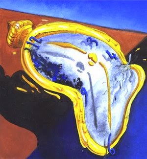 pink floyd and the melted clock of salvador dali sound of the dark