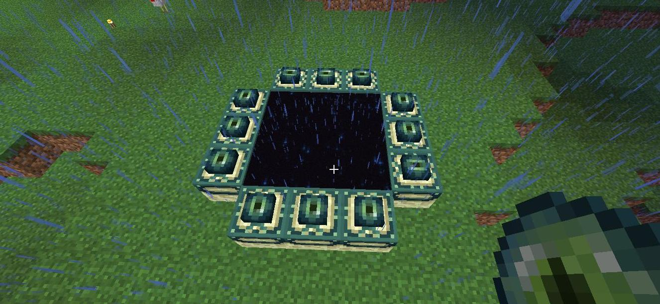 minecraft how to make your end portal look cool