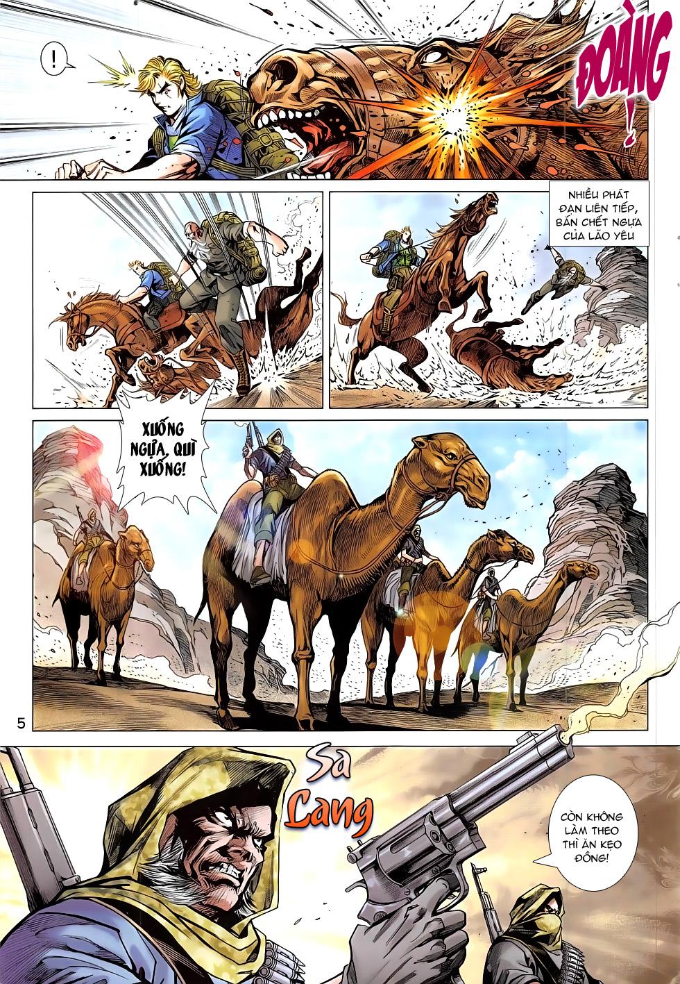 Tân Tác Long Hổ Môn chap 793 Trang 5 - Mangak.info