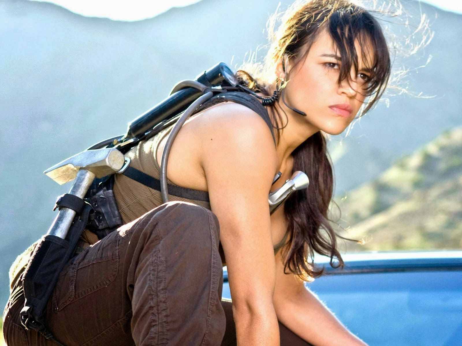 Michelle Rodriguez in Fast and Furious 6
