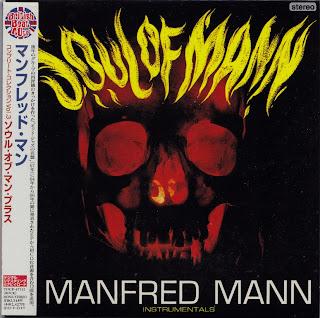 MANFRED MANN - SOUL OF MANN (HIS MASTER\'S VOICE 1967) Jap mastering cardboard sleeve + 12 bonus