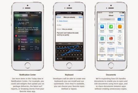 Inilah fitur baru dari iOS 8, foto dan video - Keyboard pihak ketiga
