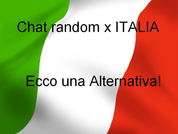 sesso romantico italiano chat amicizia gratis