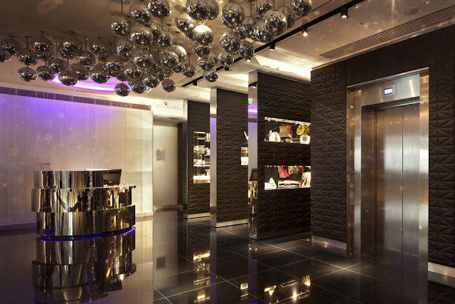 W Hotel London Interior Leicester Square By Concrete Architectural Associa