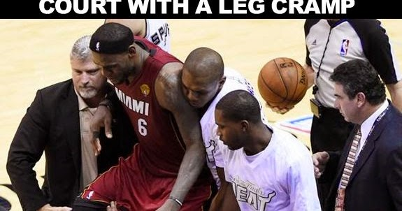 Masshole Sports: LeBron James Left Game 1 Of The NBA Finals Last Night Because Of A Cramp In His ...