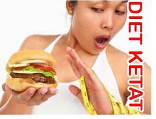 pantangan diet,makanan pantagan diet