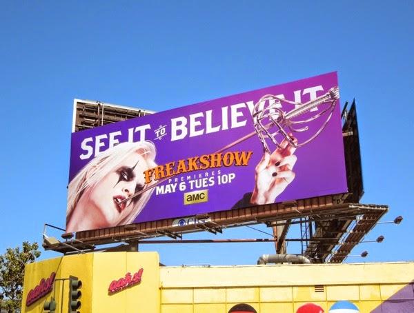 Freakshow See it Believe it season 2 billboard