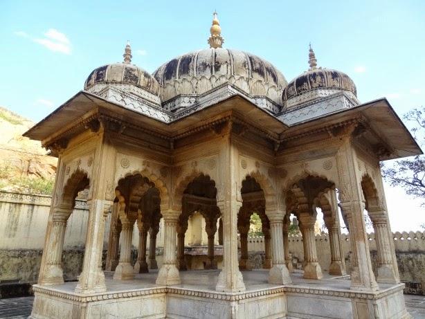 gaitor gaitore cenotaph emaharadja jaipur inde