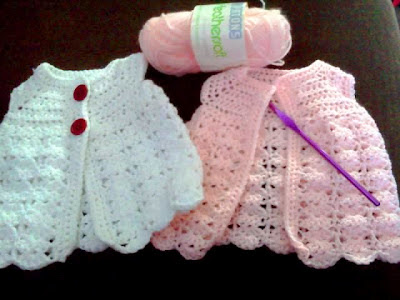 Crocheting Baby Stuff : Blooming Lovely: WIP - crochet baby stuff
