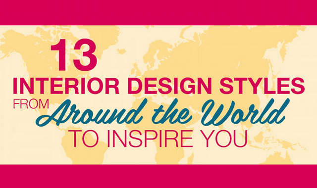13 Interior Design Styles From Around The World To Inspire You