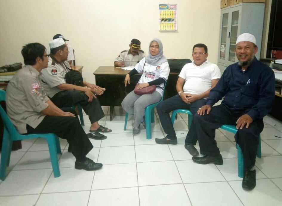 KPU Kota Medan Bersama Panwaslih Gelar Coklit Serentak di Kel.PBD II