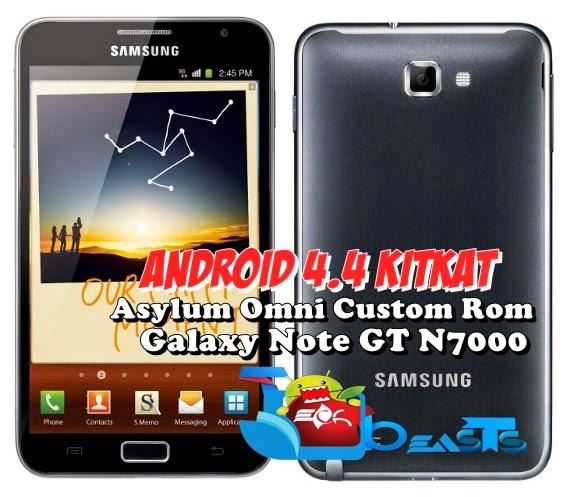 Upgrade Samsung Galaxy Note N7000 Kepada Kit Kat 4.4.2