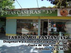 FABRICA DE PASTAS 33