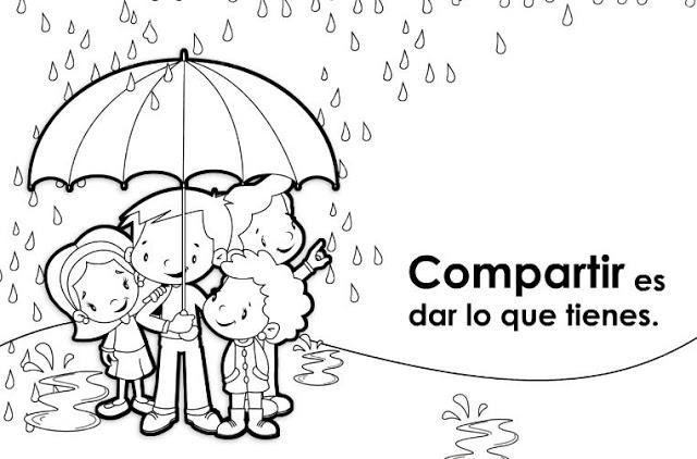 Imagenes honestidad para colorear - Imagui