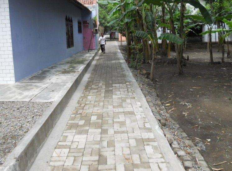 Desain Rumah: Contoh Perhitungan Volume Dan RAB Jalan Paving