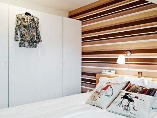 Không gian đẹp nhờ giấy dán tường 3