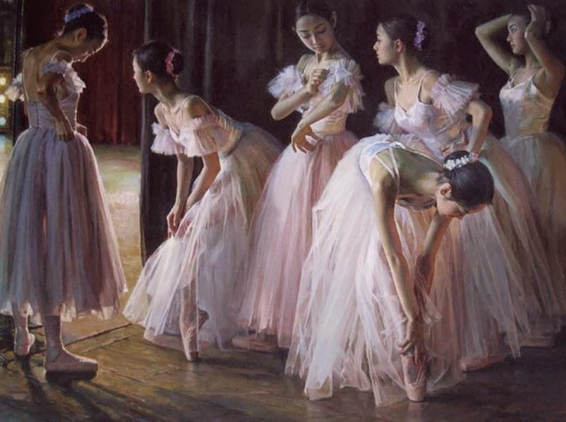 bailarinas-pinturas