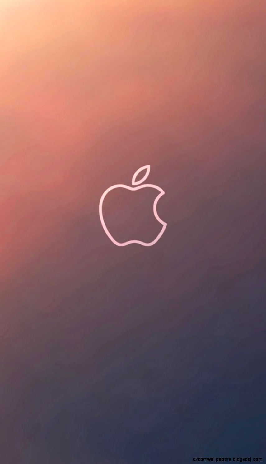 iPhone 6 6 Plus Wallpaper   Apple Logo   Covers Heat