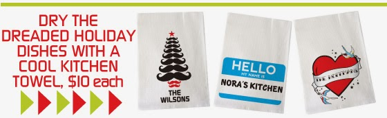 Shop Personalized Kitchen Towels