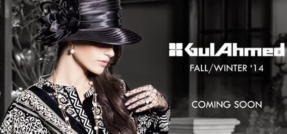 Gul Ahmed Fall-Winter Collection 2014-2015