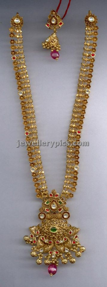 Jewelry Antique Long Necklace Haram Designs Part 1 3