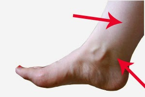 ankle acupressure point for lose fat